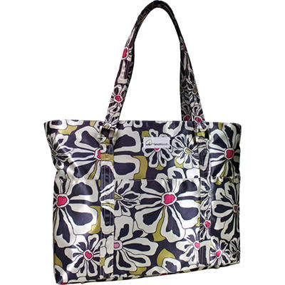 Amy Michelle Austin Diaper Bag,Charcoal Floral