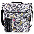 Lexington Diaper Bag - Charcoal Floral