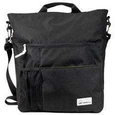 Amy Michelle Lexington Diaper Bag, Black