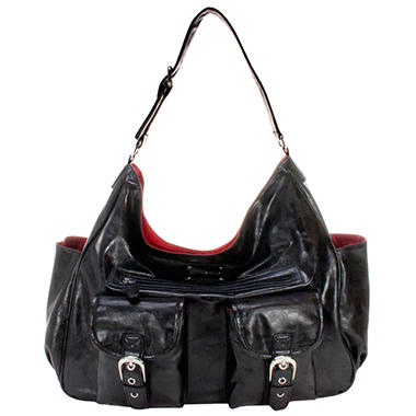 Amy Michelle Sweet Pea Diaper Bag, Black