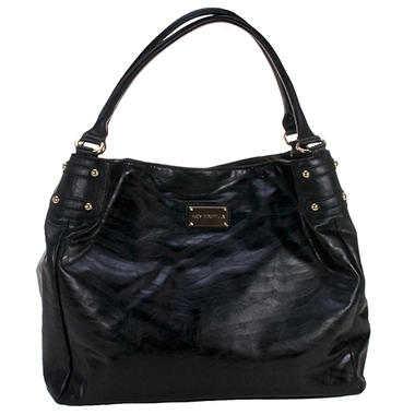Zebra Diaper Bag - Black