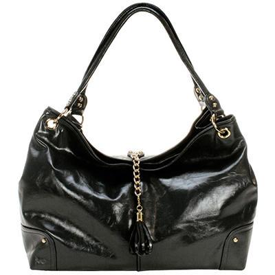 Amy Michelle Magnolia Diaper Bag, Black