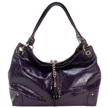 Amy Michelle Magnolia Diaper Bag, Plum