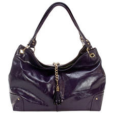 Amy Michelle Magnolia Diaper Bag, Plum