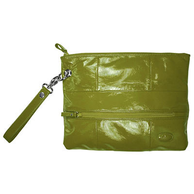 Amy Michelle Poppy Clutch, Green
