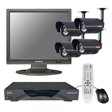 Security First DVR Video Surveillance System
