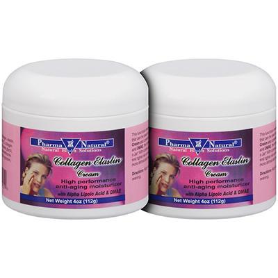 Pharma Natural® Collagen Elastin Cream - 4 oz. - 2 ct.