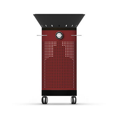 Fuego Element 03 Outdoor Gas Grill - Red