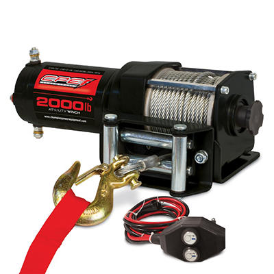 Champion 2,000 lb ATV/UTV Winch Kit
