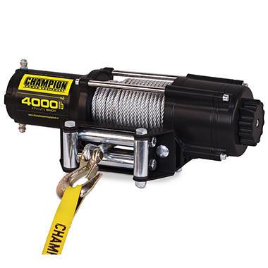 Champion Power Equipment 4,000 lb. ATV/UTV Winch Kit with Wireless Remote
