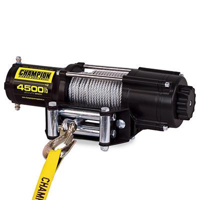 Champion Power Equipment 4,500 lb. Permanent Magnet ATV/UTV Winch Kit