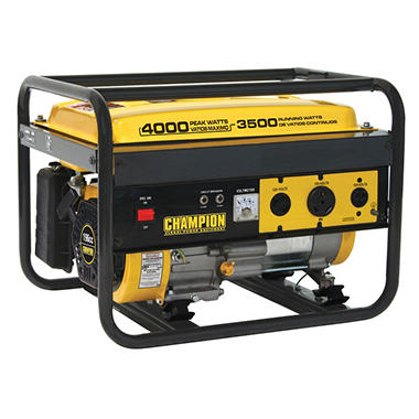 Champion 4000 Watt Gasoline Generator