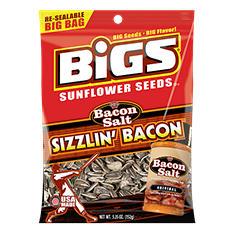 Bigs Bacon Salt Sizzlin' Bacon Bacon Salt Sunflower Seeds (5.35 oz.)