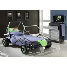 Go-Go Cart Dune Buggy Twin Bed - Green