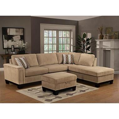 sale yosemite sectional sofa with ottoman right top With yosemite sectional sofa with ottoman