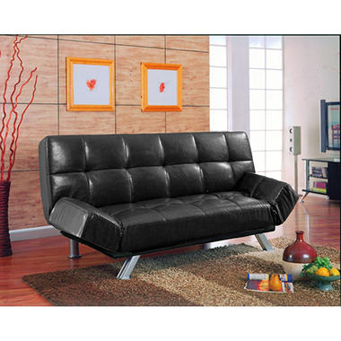 BI-CAST PU ADJ SOFA W/FOLDING CONSOLE