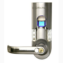 Bio-Matic Fingerprint Door Lock - Left Handled