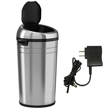 iTouchless Large Commercial Size Stainless Steel Automatic Sensor Touchless Trash Can - 23 Gallon