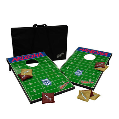 Collegiate Bean Bag Toss- Arizona Wildcats
