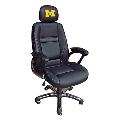 University of Michigan Wolverines Head Coach Office Chair