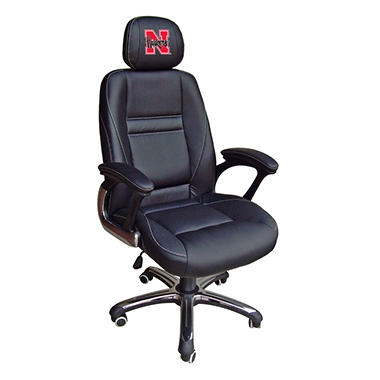 University of Nebraska Cornhuskers Head Coach Office Chair
