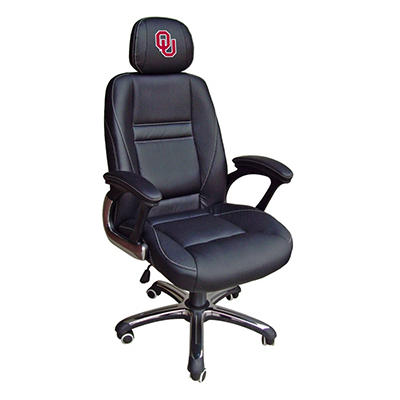 University of Oklahoma Sooners Head Coach Office Chair