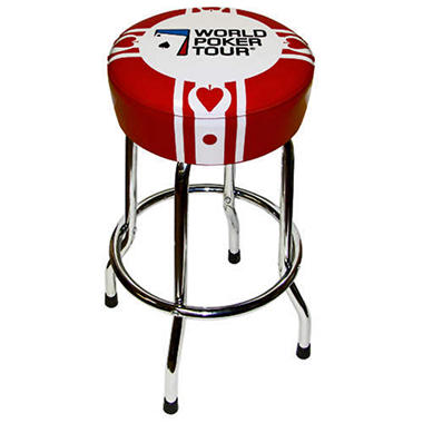 World Poker Tour Barstool - 30""