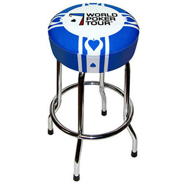 World Poker Tour Swivel Barstool - 30""