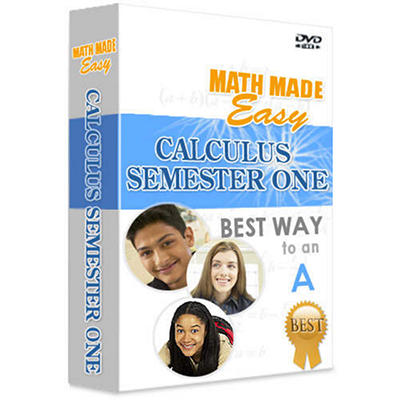 Math Made Easy - Calculus: Semester One