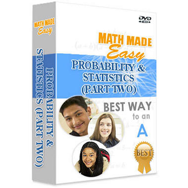 Math Made Easy - Probability & Statistics Part 2