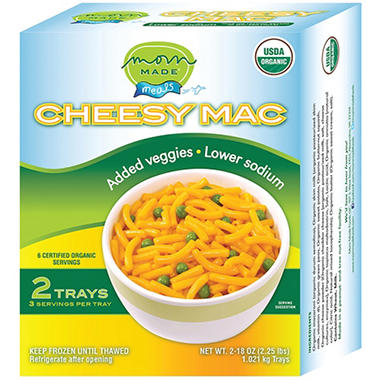 Mom Made Foods Cheesy Mac (18 oz., 2 ct.)
