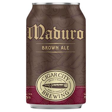 CCB MADURO BROWN 6 / 12 OZ CANS