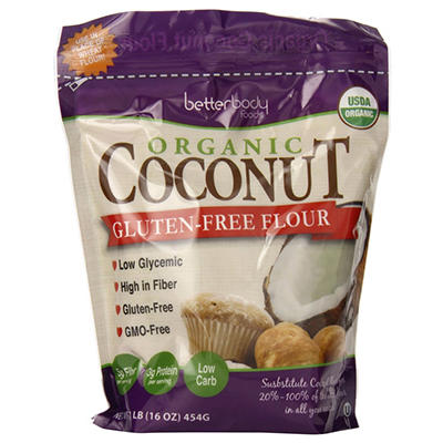 Betterbody Foods Organic Coconut Flour (2.25 lbs.)