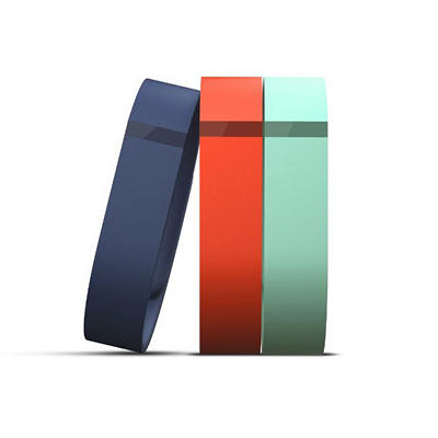 FitBIt Flex Accessory Band 3-pack (Large) - Teal, Tangerine, Navy