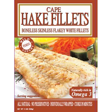 Ocean Fresh Cape Hake Fillets - 2 lbs.