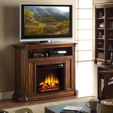 Carlton Media Entertainment Electric Fireplace