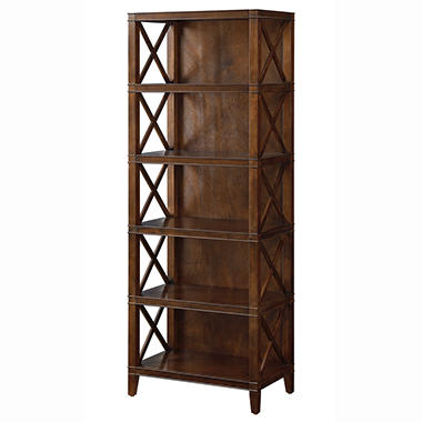 "Providence - Open Shelf Bookcase - Chestnut - 24""W x 15""D"