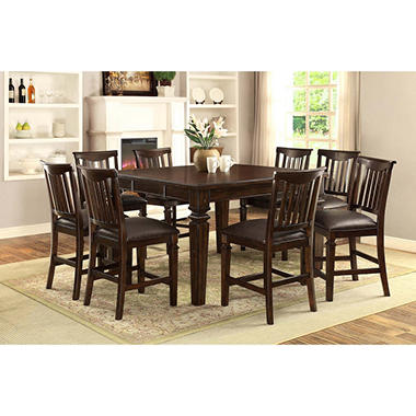 Vanderhill 9 Piece Dining Set
