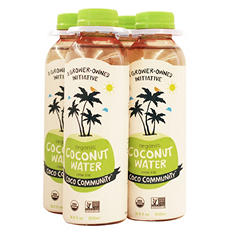 Coco Community Organic Coconut Water (500 ml bottles, 4 pk.)
