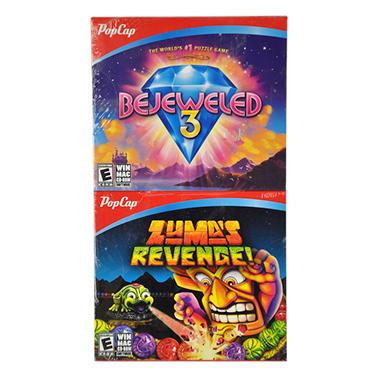 BEJEWELED 3 ZUMA JC PC GAMES
