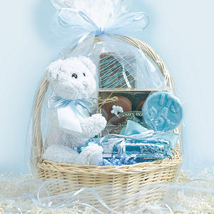 Candy House Baby Boy Basket