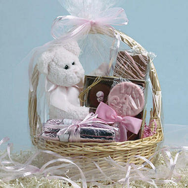 Candy House Baby Girl Basket