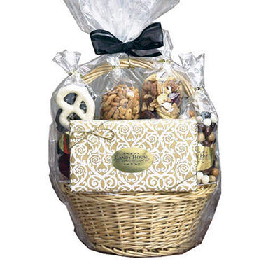 Candy House Groom's Chocolate Basket