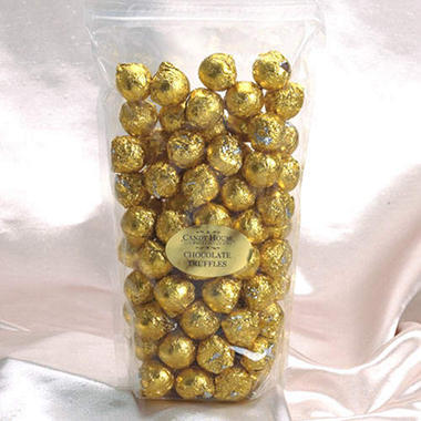 Candy House Chocolate Truffles In Gold Foil Sams Club