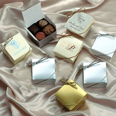 Candy House Chocolates Custom Printed Box-50 pc.