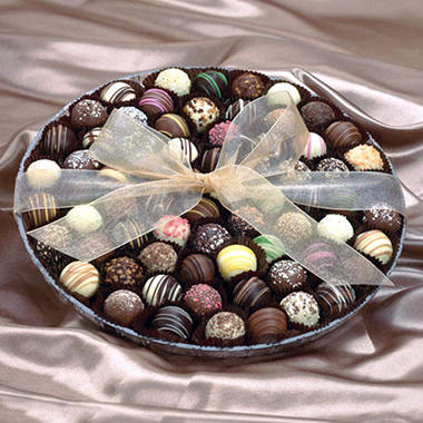 Candy House Assorted Chocolate Truffle Party Tray