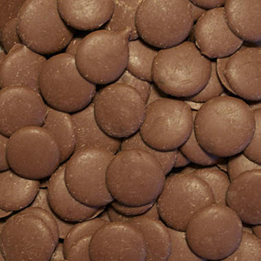 Chocolate Fountain Milk Chocolate Wafers - 25 lbs.