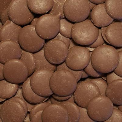 Chocolate Fountain Milk Chocolate Wafers - 25 lbs.
