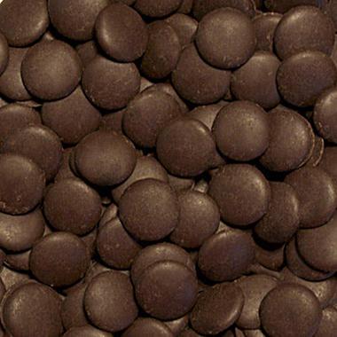 Chocolate Fountain Dark Chocolate Wafers - 25 lbs.