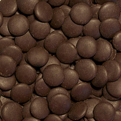 Chocolate Fountain Dark Chocolate Wafers - 25 lbs.